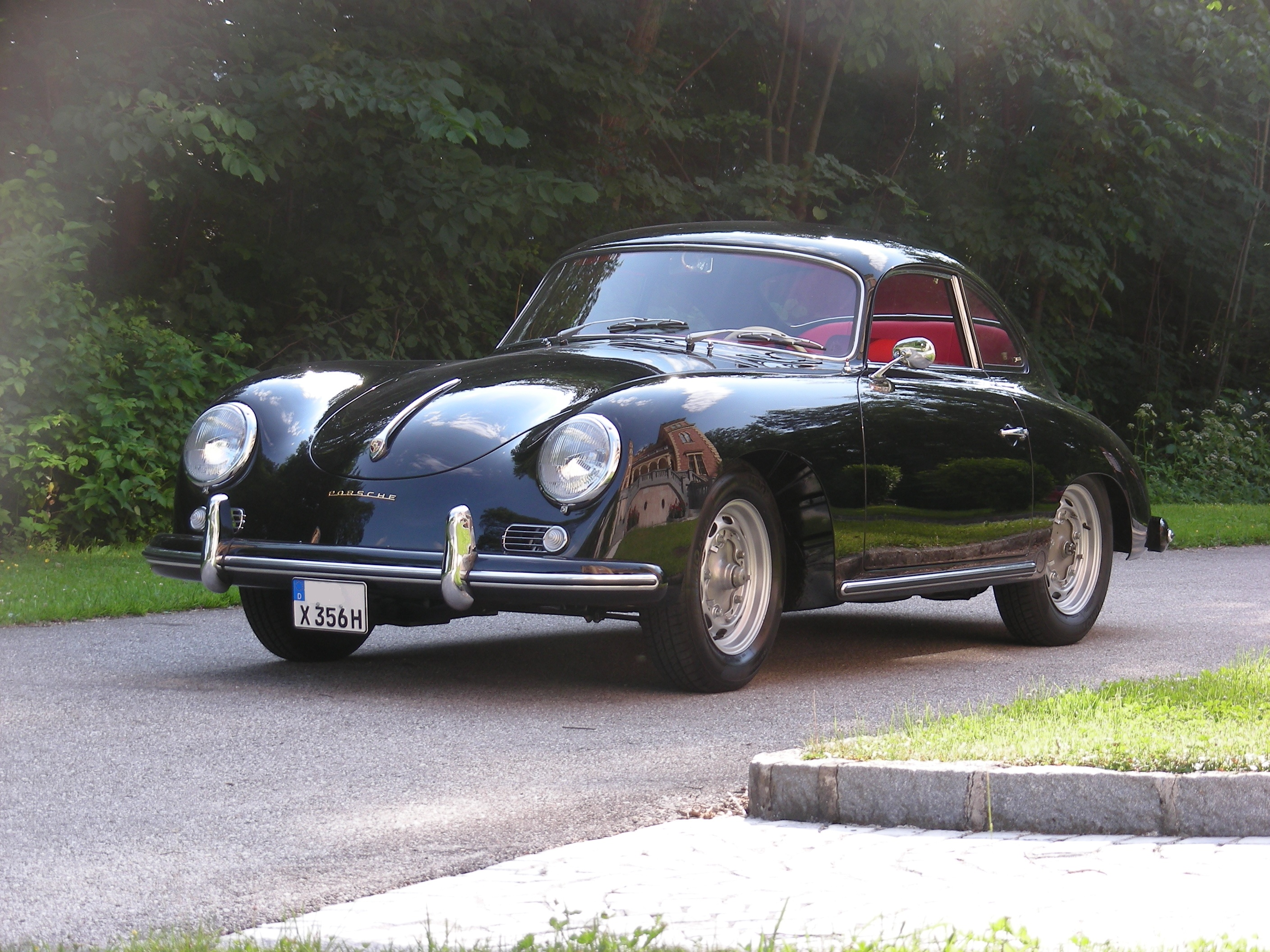 porsche 356 a coupe modell t1 sold bb classics. Black Bedroom Furniture Sets. Home Design Ideas